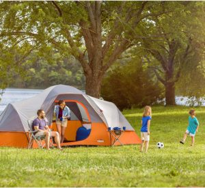 Image of the CORE 9 Person Extended Dome Tent