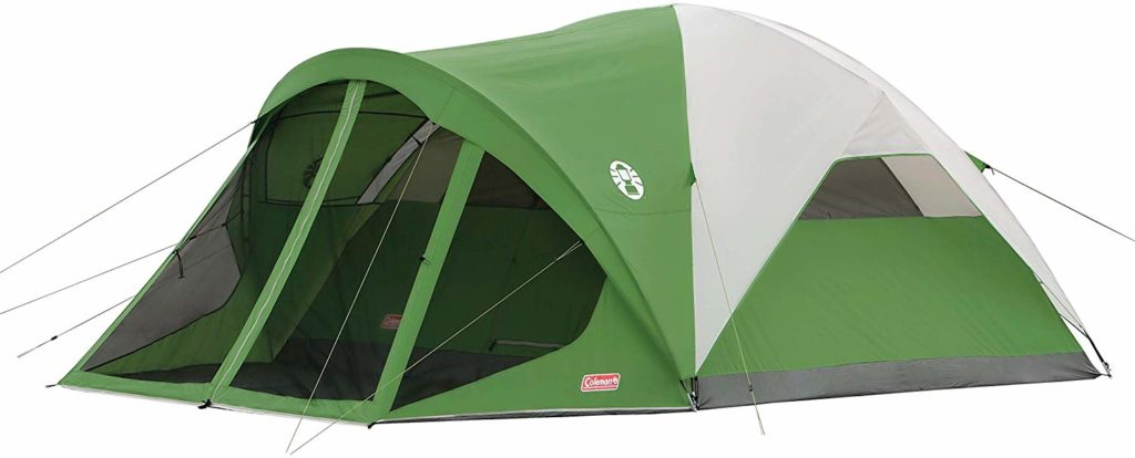 Image of the Coleman 6-Person Dome Large Family Camping Tent