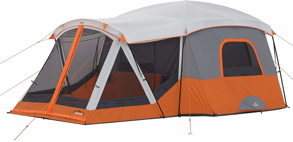Image of the Core 11-Person Family Cabin Tent