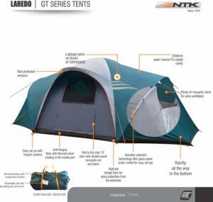 Image of the NTK Laredo Family Tent