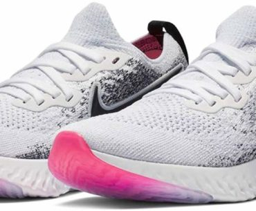 Image of the Nike Epic React FlyKnit 2 Shoes