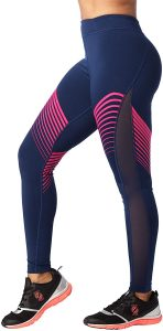 Image of the STRONG by Zumba High Waisted Compression Workout Leggings