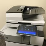Photo of an office printer