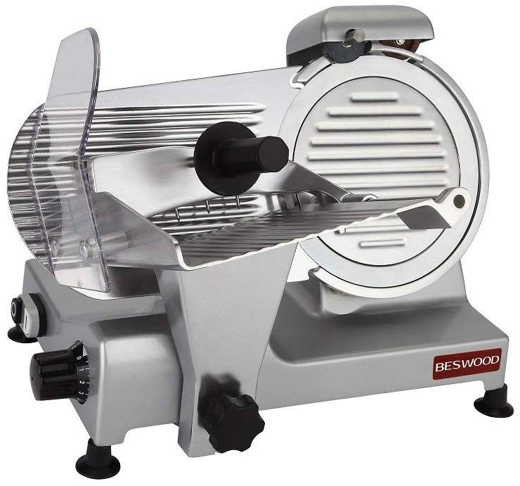 BESWOOD Electric Meat Slicer for Home Image