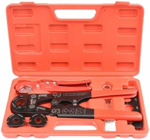 IWISS PEX Pipe Crimping Tool Kit with Cutter Suits Image