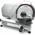 Image of KWS Low Noise Commercial and Home Use Food Slicer