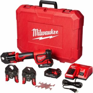 Image of the Milwaukee Short Throw Press Kit PEX Crimp Jaws