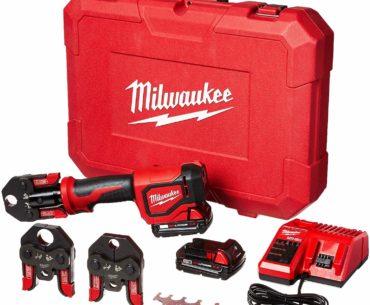 Image of the Milwaukee Short Throw Press Kit PEX Crimp Jaws