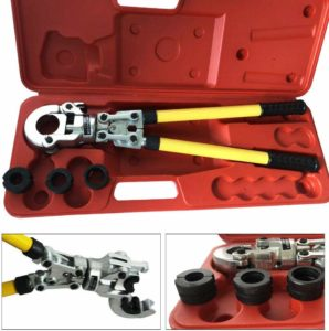 Pipe Crimping Tool - Copper Pipe Press and Pex Crimp Tool Photo