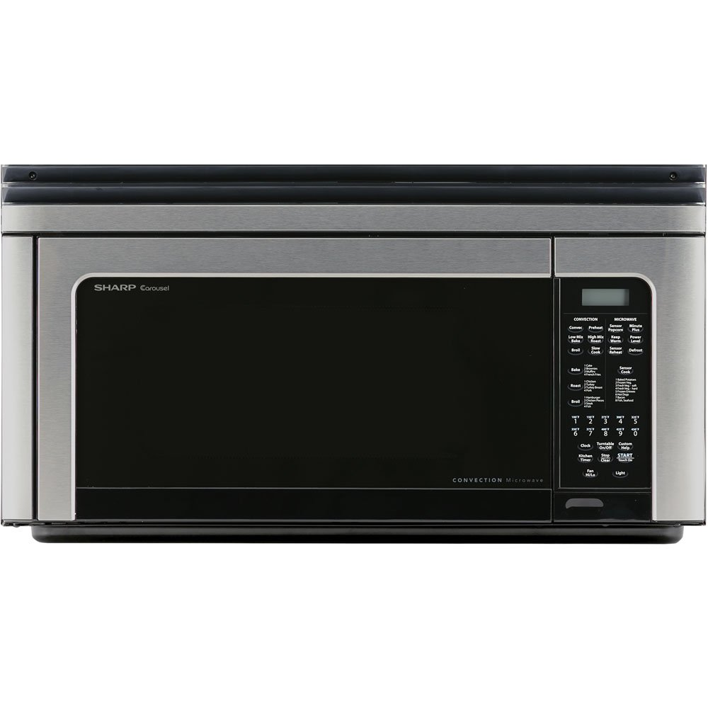 Image of Sharp Over-The-Range Convection Microwave Oven in Stainless Steel