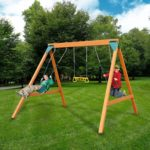 The Swing-N-Slide Ranger Wooden Set Image