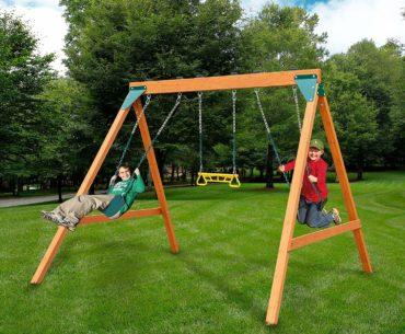 The Swing-N-Slide Ranger Wooden Set Image