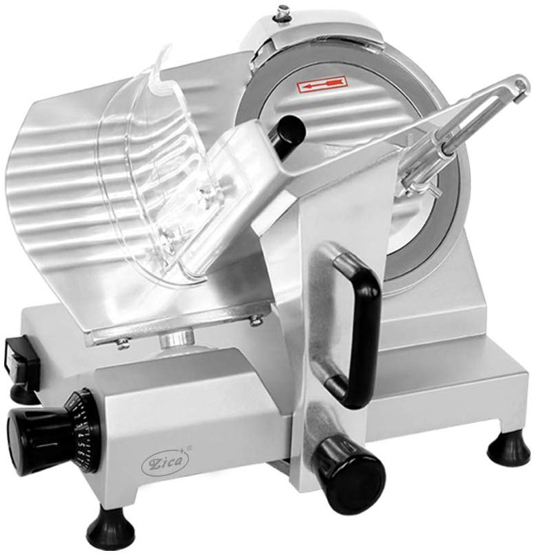 Zica Chrome-plated Carbon Steel Blade Electric Meat Slicer Image