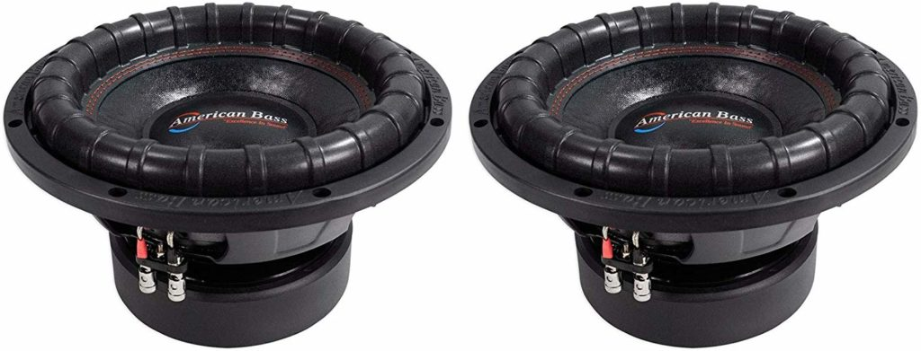 Picture of American Bass 2400w Competition Car Subwoofers