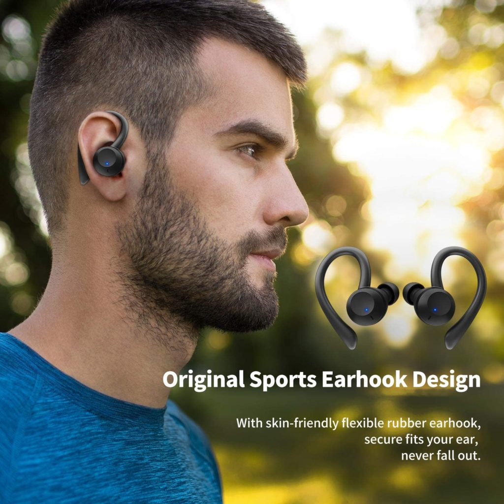 Photo of Axloie Sports Wireless Earbuds With Ear Hooks