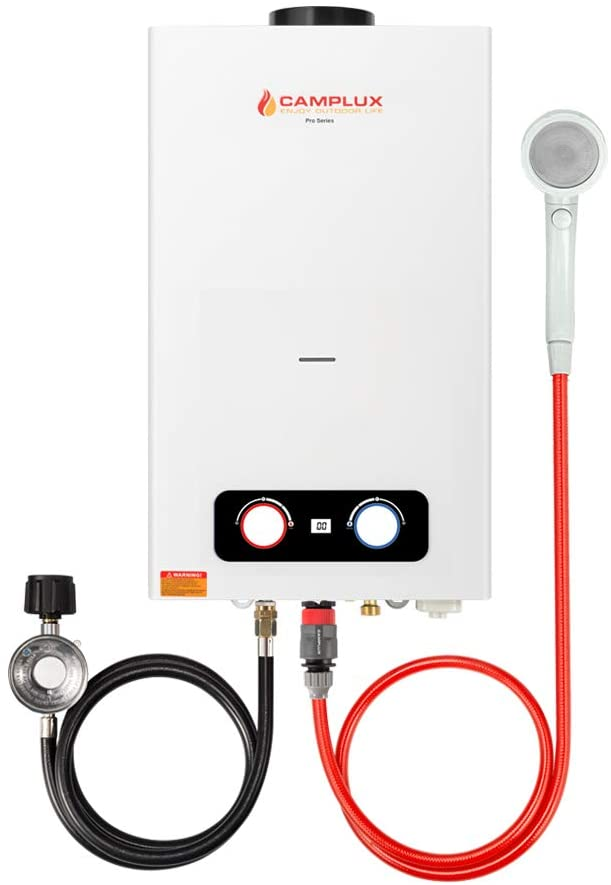 Picture of Camplux Portable Water Heater with Overheating Protection