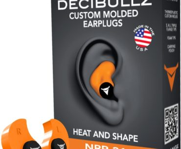 Picture of Decibullz Custom Molded Comfortable Hearing Protection for Shooting