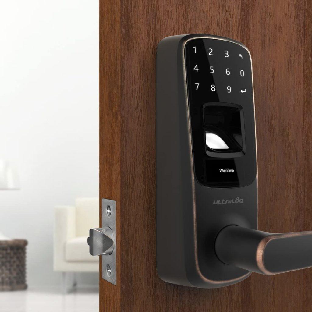 Photo of Fingerprint and Touchscreen Keyless Smart Lever Door Lock