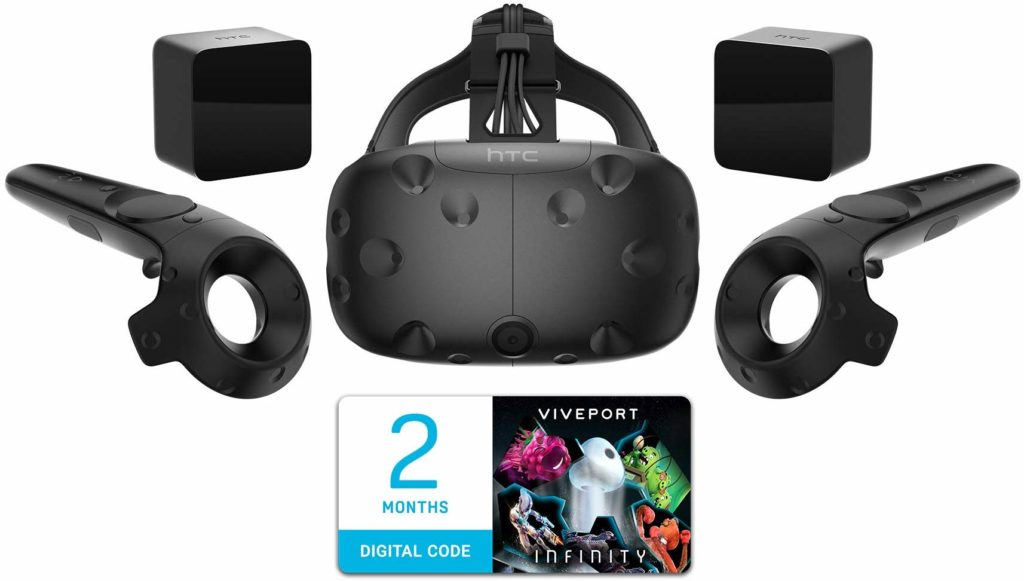 Photo of HTC Vive Virtual Reality Game System
