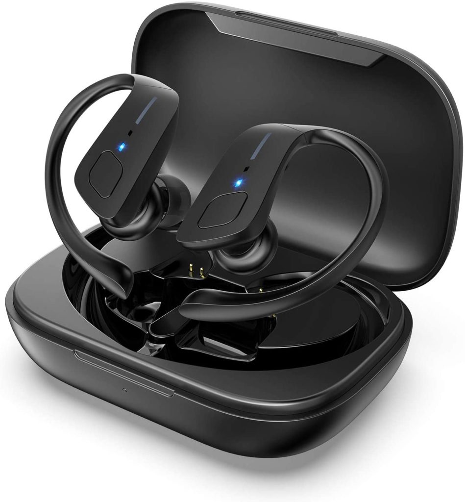 Picture of HolyHigh Sports Wireless Earbuds With Earhooks