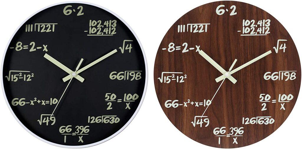 Image of JoFomp Math Luminous Wall Clock