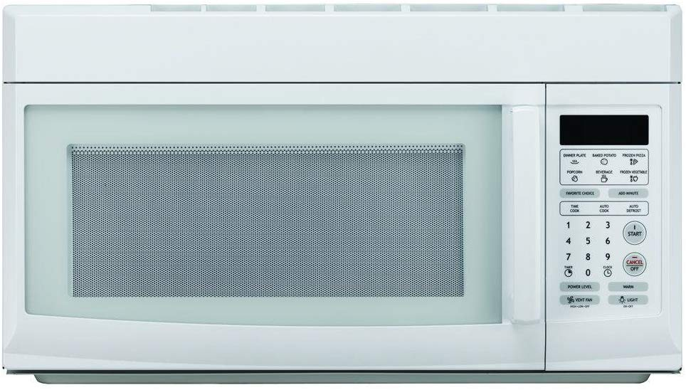 Image of Magic Chef White Over-the-Range Microwave