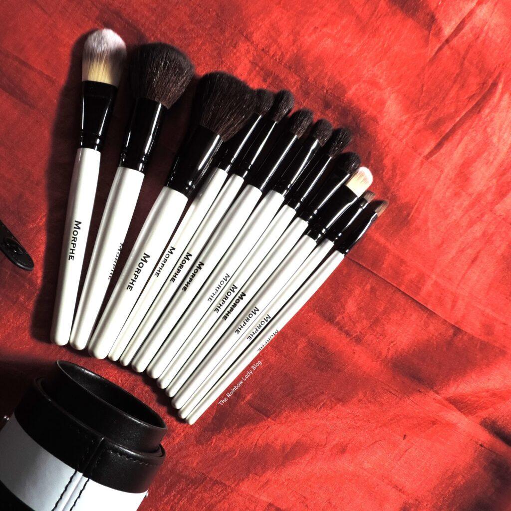 Photo of Morphe 706 12-piece Black and White Travel Brush Set
