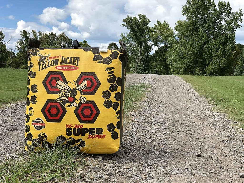 Picture of Morrell Super-Duper Field Point Bag Archery Target - For Compound Bows and Crossbows up to 400 FPS