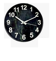 Image of OURISE Modern Glow in The Dark Wall Clock