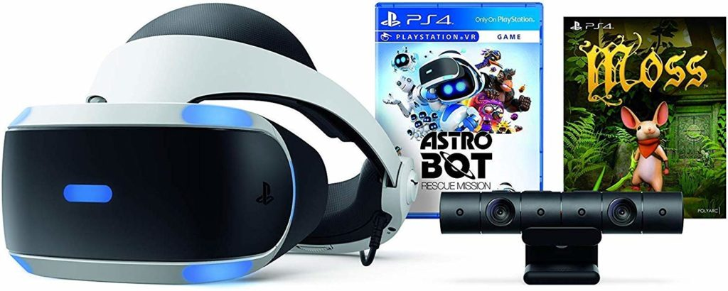 Image of PlayStation VR with PlayStation Camera