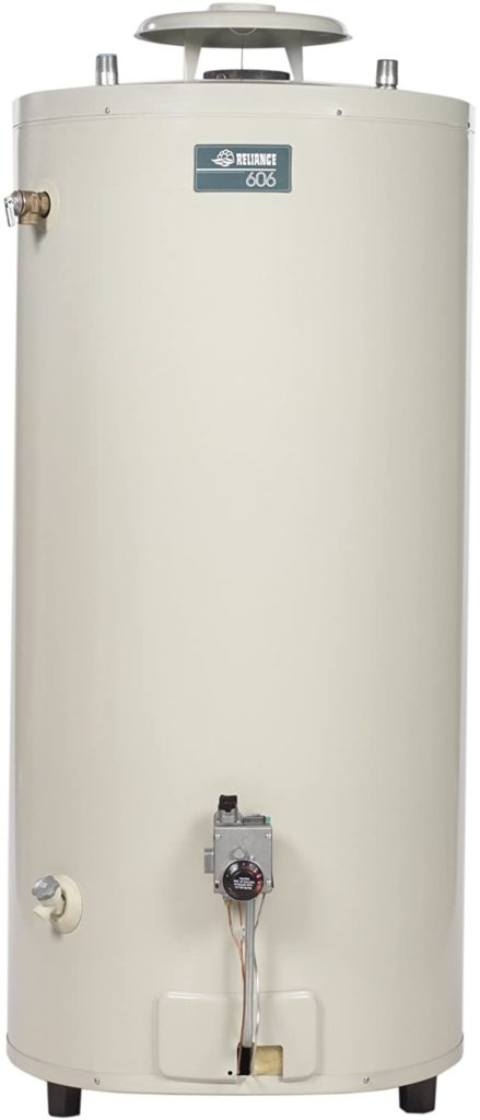 Photo of Reliance 75 Gallon Gas Water Heater