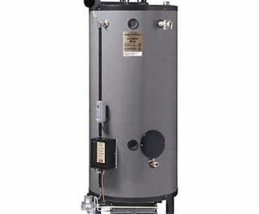Image of Rheem 75 Gallon Commercial Gas Water Heater