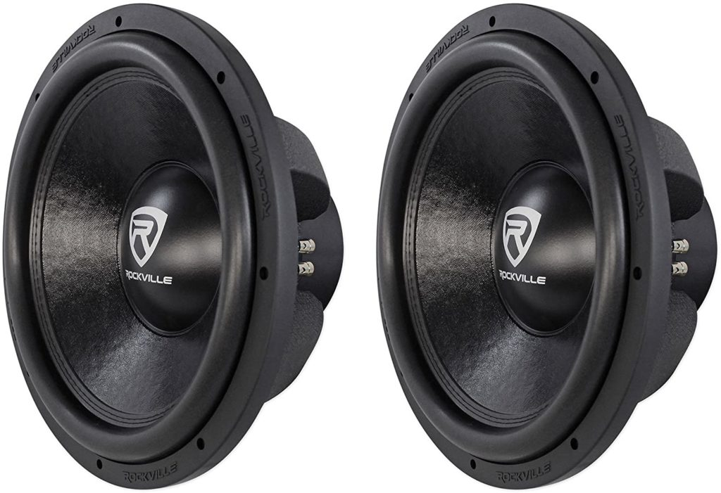Image of Rockville 8000w Car Subwoofers Dual 2-Ohm