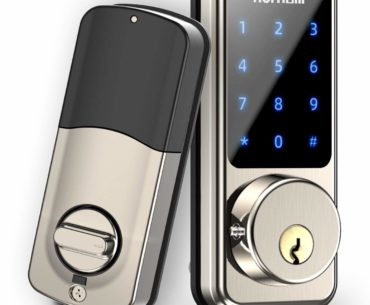 Picture of Smart Front Door Lock that Works with APP, Code, and eKey