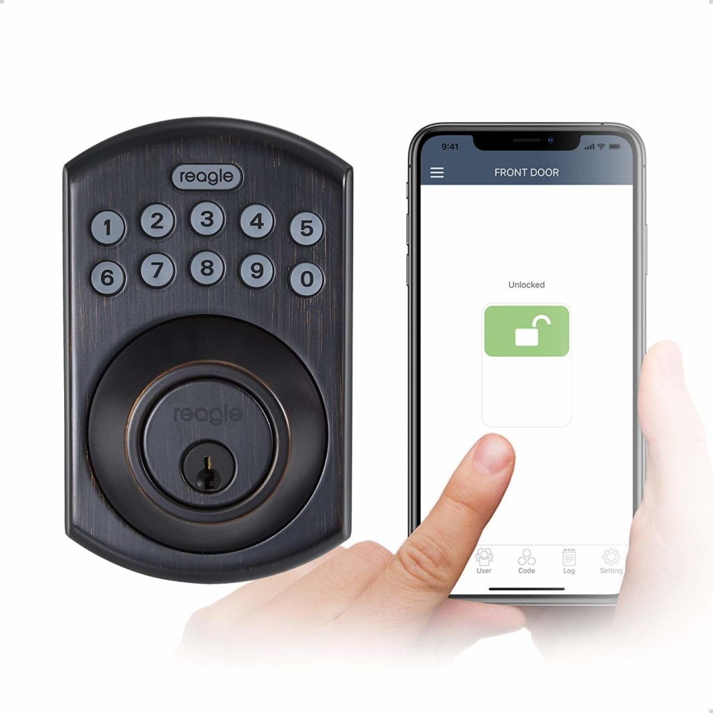 Photo of Smart Lock, Bluetooth Keypad Deadbolt, works with Siri, iOS, and Android