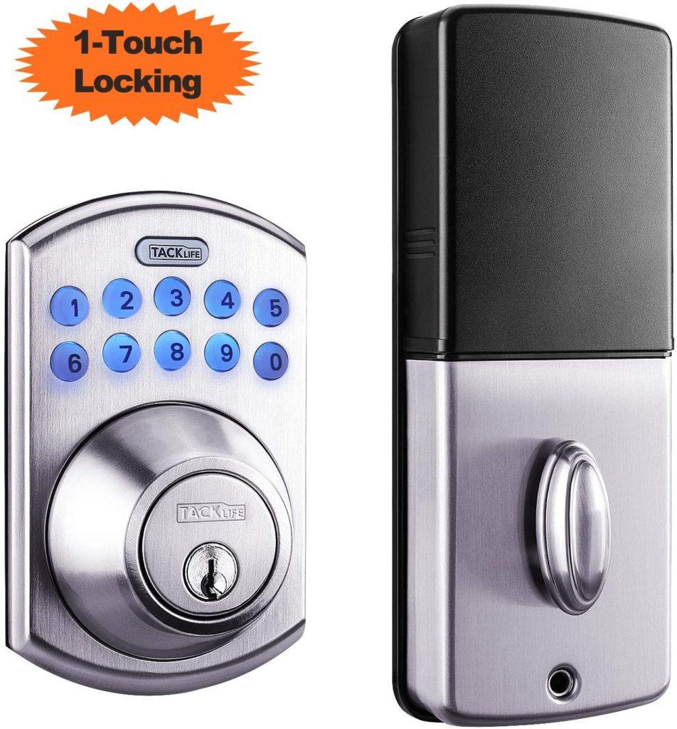 Image of Tacklife Electronic Deadbolt Keyless Door Lock