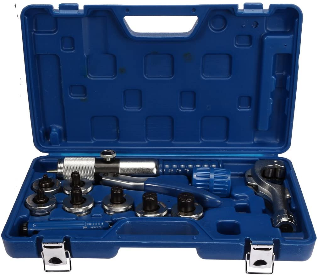 Lisle Tools 17350 Impact Wrench Pipe Stretcher Kit 7 Pcs Storage case included