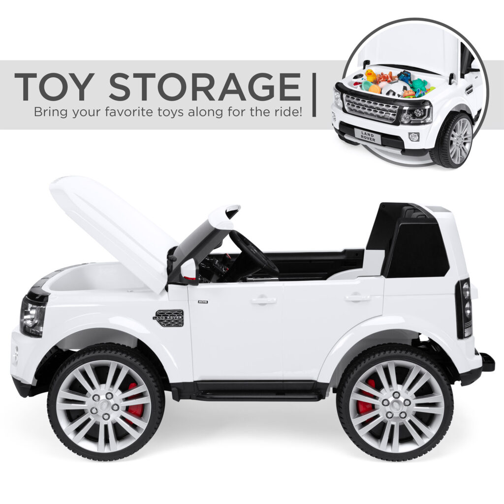 Image of 2-Seater Licensed Land Rover Ride On Car Toy Parent Remote Control