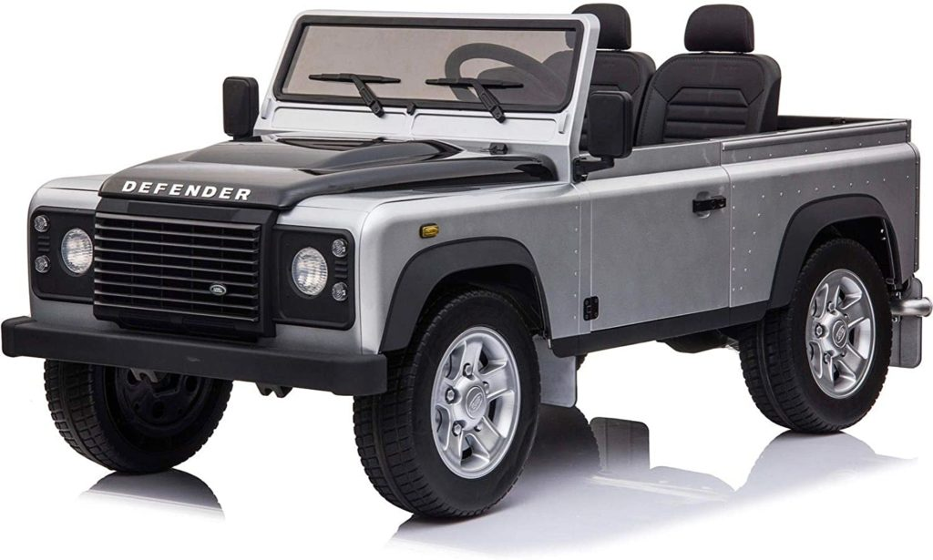 Image of 2 Seats Land Rover Ride on Car for Kids with Remote Control