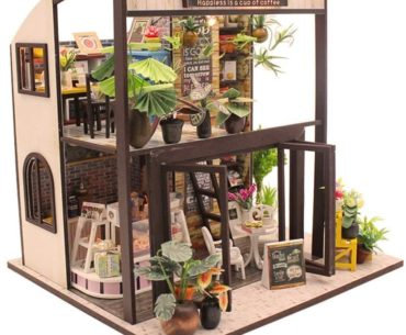 Picture of 3D wooden miniature House Puzzle