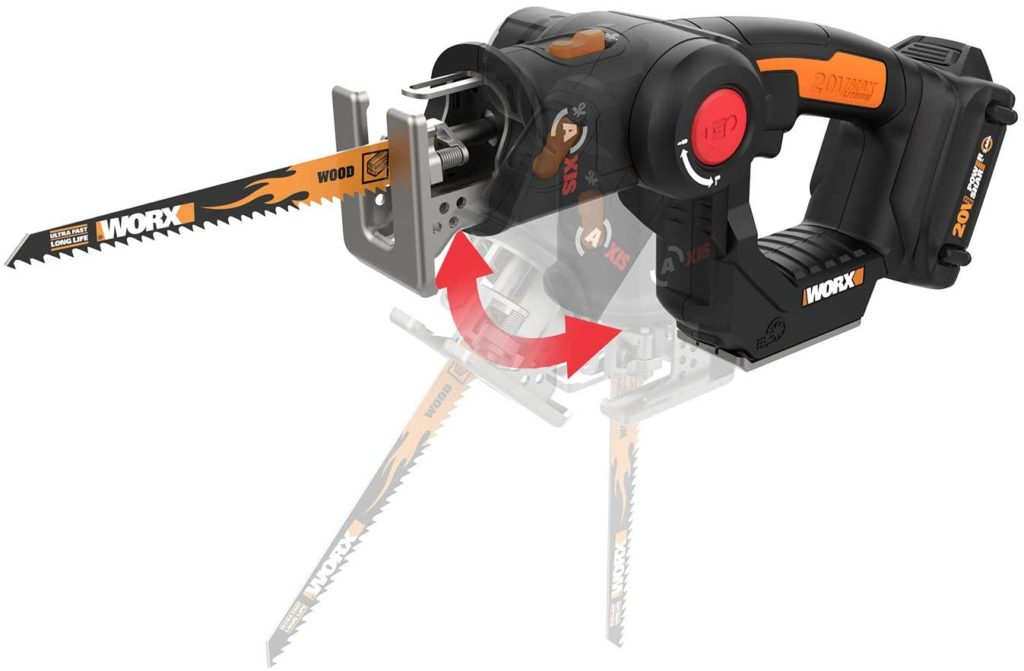 Photo of AXIS 2-in-1 Reciprocating Saw and Jigsaw with Orbital Mode