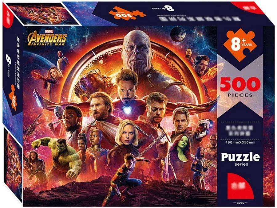 Photo of Avengers Jigsaw Puzzle