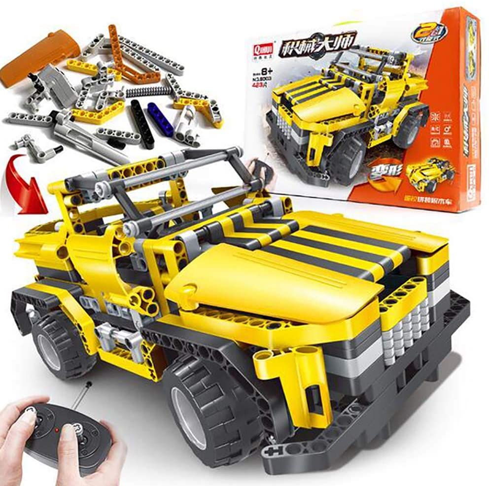 Picture of FXQIN Building Blocks Car With Remote Control