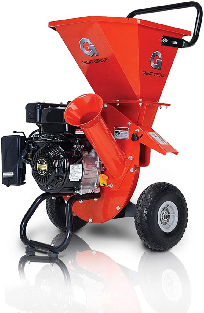 Picture of Great Circle USA Wood Chipper Shredder Mulcher