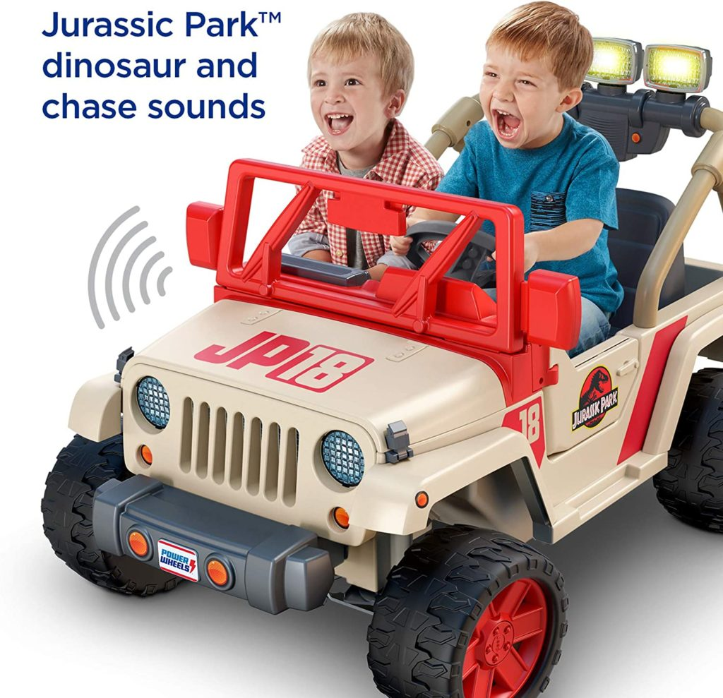 Picture of Jurassic World Jeep Wrangler