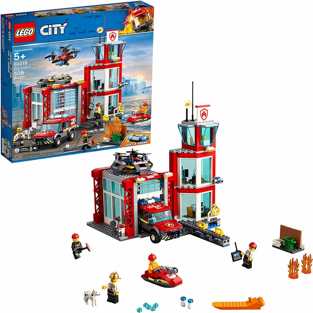 Photo of Lego Fire Station