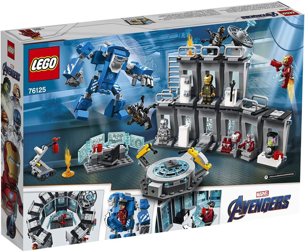Photo of Lego Iron man Hall of Armor