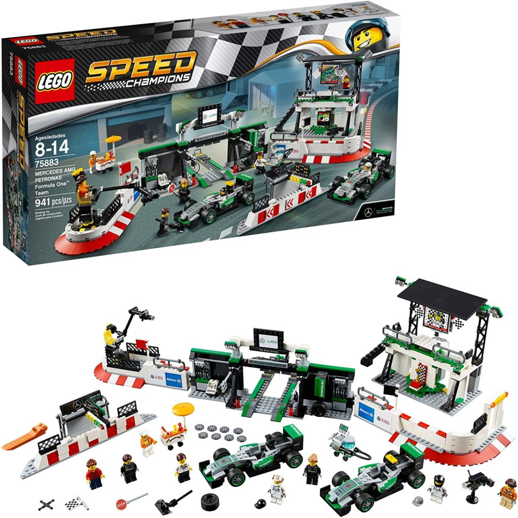 Picture of Lego Mercedes AMG Petronas Formula One Team