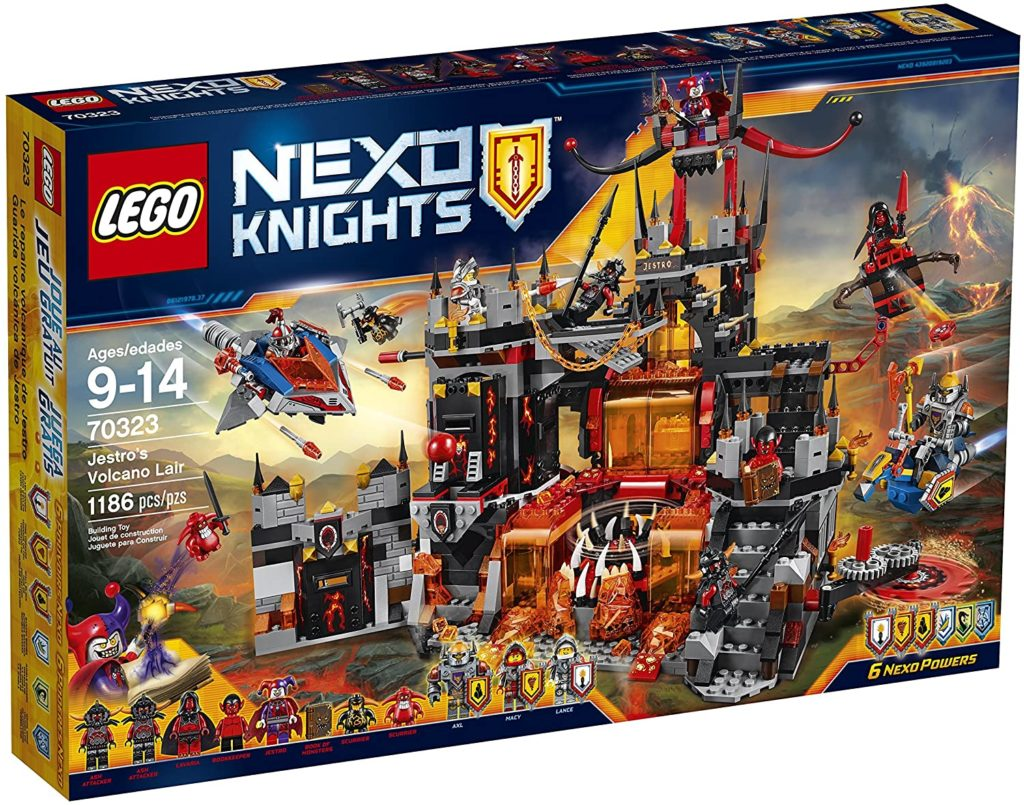 Photo of Lego Nexo Knights Jestro's Volcano Lair