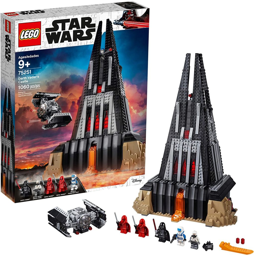 Picture of Lego Star Wars Darth Vader's Castle